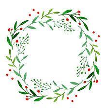watercolor christmas wreath에 대한 이미지 검색결과