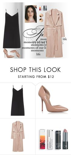 """""""Elegant dinner"""" by youngsmile ❤ liked on Polyvore featuring Raey, Kurt Geiger, MANGO, Korres and Linda Farrow"""