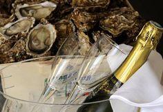 Restaurant Le 61 de La Chaumière #Royan #Champagne #Huitres #Elegant