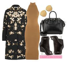 """Untitled #2010"" by stylebyteajaye ❤ liked on Polyvore featuring Givenchy, Torn by Ronny Kobo and Linda Farrow"