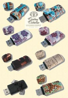Covering USB Flash Drives with Clay | Craft Gossip | Bloglovin'