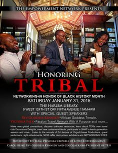 Networking in honor of Black History