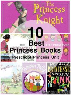 10 Best Princess Books | Children's Picture Books about Princesses. Part of a Preschool Princess Unit | Bambini Travel