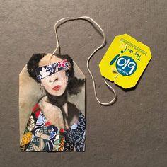 Ruby Silvious tea bag creativity art