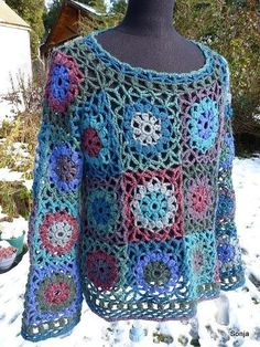 :) no pattern for this but love the colors and look