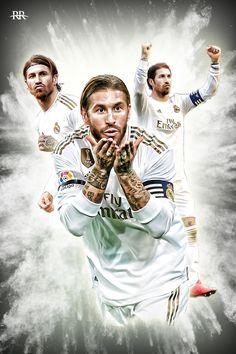 Varane Real Madrid, Ramos Real Madrid, Real Madrid Football, Real Madrid Players, Spain Madrid, Football Players Images, Best Football Players, Fifa Football, Football Art