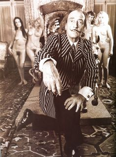 Dali with models