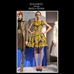 """ALICE & OLIVIA is a New York, New York-based contemporary clothing company with designer, Stacey Bendet, at the helm. The global brand launched at Barneys in 2002 and is now sold in over fifty countries. Her desire to make """"a trouser sexy,"""" or """"the focus of an outfit"""" led her to launch a 20-item collection at the Russian Tea Room in 2002. alice + olivia pants gained immediate popularity due in part to their mindful design. #alicia&olivia #fashion #inspiration #couture #elegance #glamorous"""