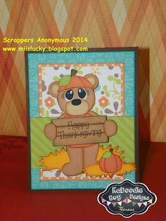 Scrappers Anonymous Kadoodle Bug Designs