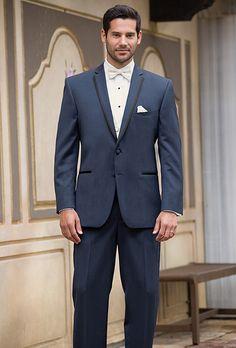 Slate Blue Aspen Tuxedo - an updated look in formal wear - this tuxedo is perfect for modern wedding.