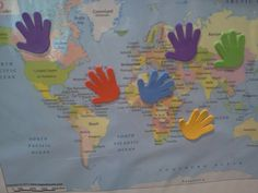 Flame: Creative Children's Ministry: Hands over the world- praying for God's blessing