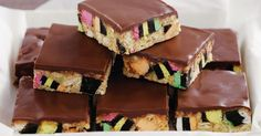 Licorice Allsorts lovers will simply adore this quick and easy slice.