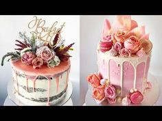 The Naked Cake: How to Slice, Ice, Stack, and Decorate - YouTube