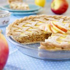 Fitness jablečný koláč s tvarohem - recept Bajola 20 Min, Chia Seeds, Apple Pie, Fitness, Food And Drink, Healthy Recipes, Healthy Food, Treats, Snacks
