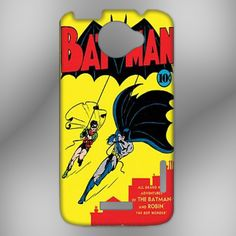 Batman Comic Book Cover Heavy Gauge Metal HTC One X Case | HERLIANCASE - Accessories on ArtFire