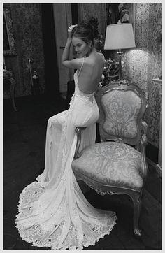 Backless Wedding Dress; My Favourite So Far!