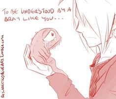 To Be Understood by a Brat Like You... by HitanTenshi on DeviantArt
