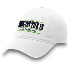 c4b8007be18ca Men s Seattle Seahawks NFL Pro Line by Fanatics Branded White Bring On the  12 Nickname Bar