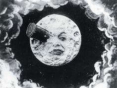 Georges Méliès. Voyage to the moon