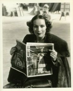 Dolores del Río en Hollywood.