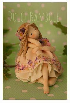 Dolci Bambole-porcelana fria-porcellana fredda-pasta di mais-bambole-doll