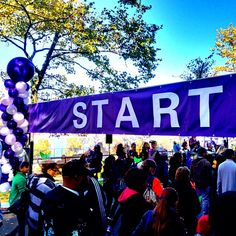 At the Starting Line of the Walk to End Alzheimer's - @jeffreynyc