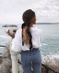 Kleider rock minimal style inspiration denim style inspo denim inspiration inspo minimal modeinspo style what to add to your closet in august Denim Fashion, Look Fashion, Fashion Outfits, Fashion Mode, Fashion Clothes, Fashion Trends, Clothes Women, Fashion Hair, School Fashion