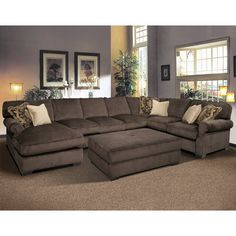 FD-641-3PC-SECT Fairmont Designs Grand Island 3 Pc. Sectional $2680.0000