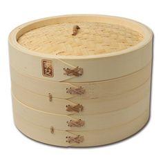 Shop Joyce Chen Bamboo Steamer Baskets at CHEFS.