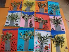 ΕΛΙΑ Tree Crafts, Diy And Crafts, Crafts For Kids, 10 Year Old, 10 Years, Olive Tree, Kids Education, Projects To Try, Activities