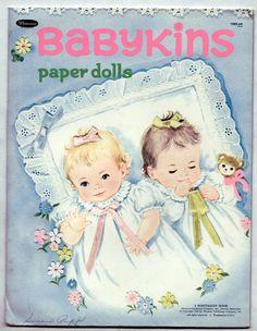 Vintage Whitman Babykins Paper Dolls 1970 Cut But Very Nice | eBay