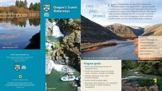 Oregon's Scenic Waterways, by the Oregon Parks and Recreation Department
