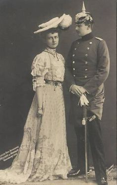 Eitel Friedrich and Sophie Charlotte of Prussia