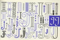 typography embroidery - Google Search