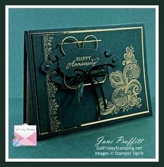Wedding Aniversary, Wedding Anniversary Cards, Happy Anniversary, Wedding Cards, Birthday Cards For Women, Card Making Supplies, Stampin Up Catalog, Stamping Up Cards, Christmas Cards To Make