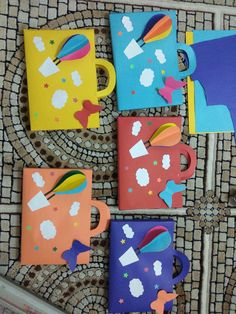 ❤ Easy Preschool Crafts for Kids with Free Printable Fun Crafts For Kids, Art For Kids, Activities For Kids, Diy And Crafts, Classroom Crafts, Preschool Crafts, Orla Infantil, High School Graduation Gifts, Teacher Cards