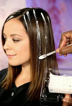 6 tips for giving yourself incredible at home hair highlights how to use a streaking brush to create perfect highlights my favorite things pmusecretfo Choice Image