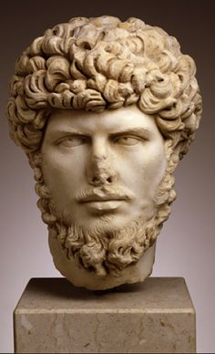 Marble bust of the emperor Lucius Verus from Asia Minor. A.D. 160-69 | Toledo Museum of Art, Ohio