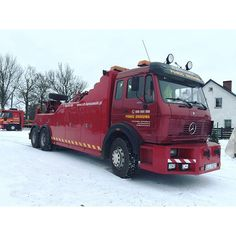 MB 6X4 - TOW TRUCK