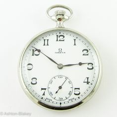 64e500414cc OMEGA Omega Vintage Pocket Watch Relógio De Bolso