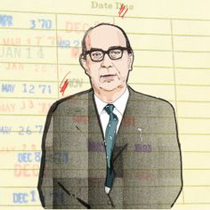 Philip Larkin, Dutch Uncle, Writers, Illustration Art, Poetry, Collage, Teaching, Ideas, Collages