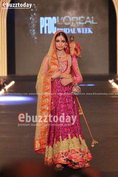 Nomi Ansari - PFDC L'Oréal Paris Bridal Week 2013 - Entertainment News by EbuzzToday - Entertainment News by EbuzzToday