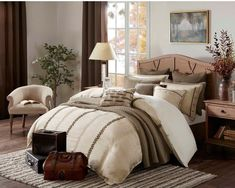 Madison Park Signature Chateau Queen Size Bed Comforter Duvet Set Bed In A Bag - Taupe , Soutache Cord Embroidery - 8 Piece Bedding Sets - Faux Linen Bedroom Comforters Perfect Bedroom, Comforters, Bedroom Decor, Comforter Sets, Duvet Comforters, Comfortable Bedroom, Linen Bedroom, King Comforter Sets, Bedding Sets