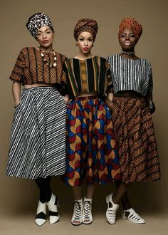 Pattern on pattern. African style.