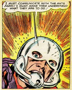 Ant Man by Jack Kirby.
