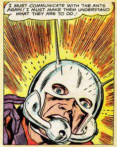 Tales To Astonish 035 Sept 1962 Comic Book Artists, Comic Book Characters, Comic Artist, Comic Books Art, Silver Age Comics, Bob Ross, Steve Mcniven, Tales To Astonish, Jack Kirby Art