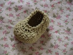 Free Crochet Baby Princess Shoe Pattern.