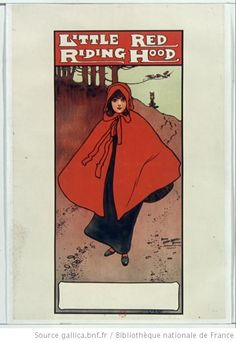 Little red riding hood, affiche, 1895
