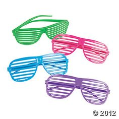 Shutter Shading Glasses. Fresh Beat Band birthday party favors