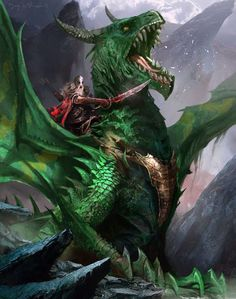Warrior and Dragon
